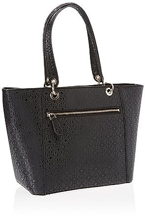 29aefecaf Amazon.com: GUESS Kamryn G-Shine Tote, Black: Clothing