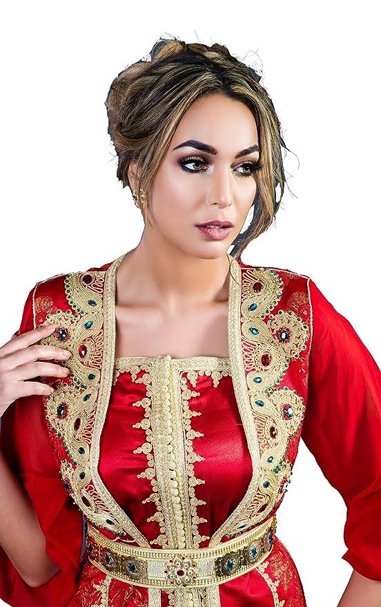 Caftan marocain Equinoxe Magnifique takchita marocaine 8cfbe08657a