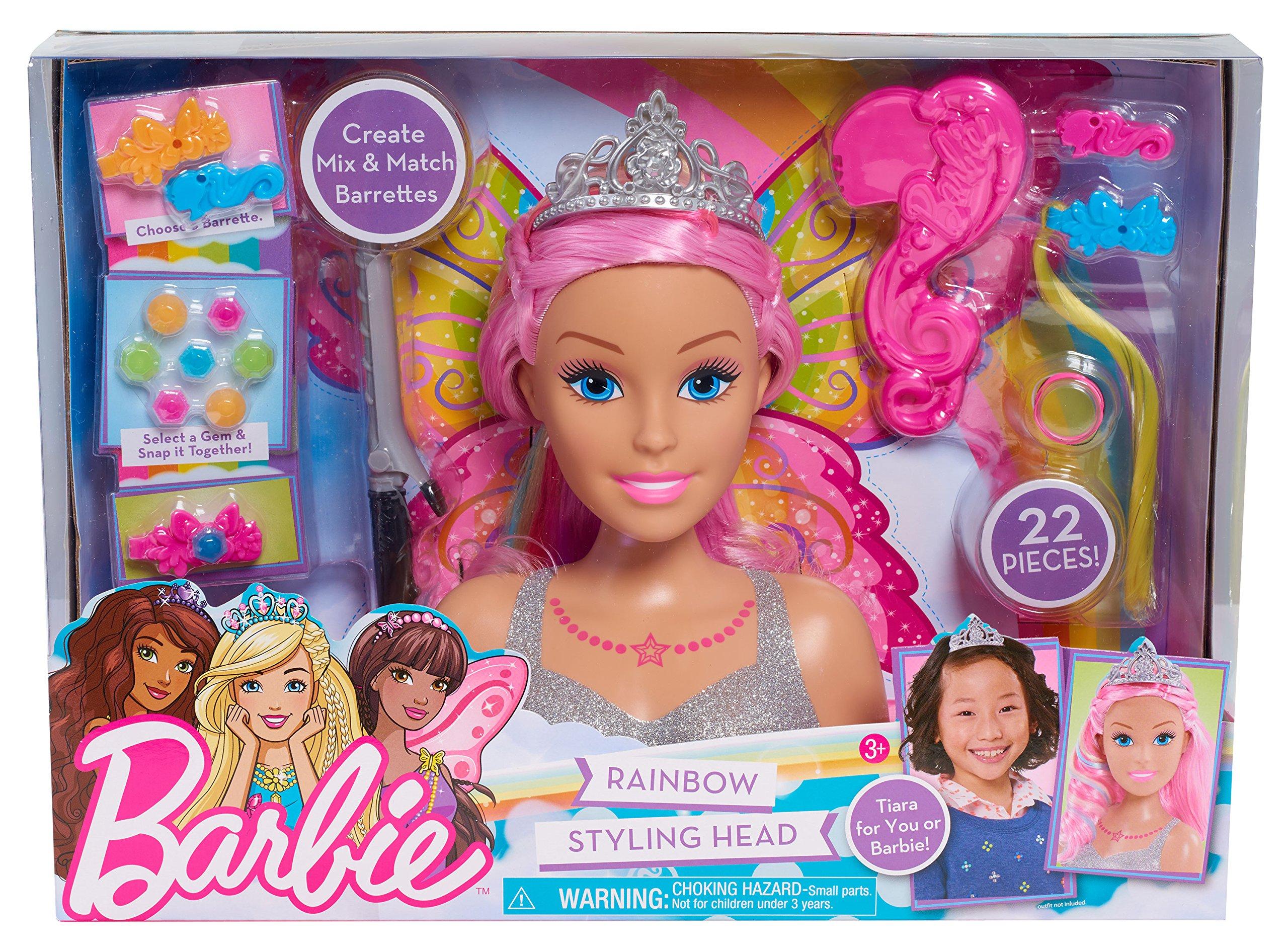 Barbie Dreamtopia Styling Head by Barbie