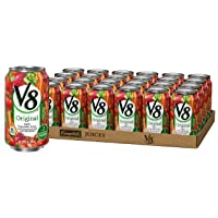 Deals on 24-Pack V8 Original Vegetable Juice 11.5 oz. Can