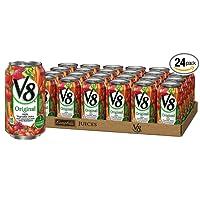 24-Pack V8 Original 100% Vegetable Juice 11.5 oz. Can