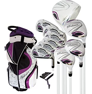 Amazon.com : Senior Ladies Golf Clubs All Hybrid Set 55+ ...