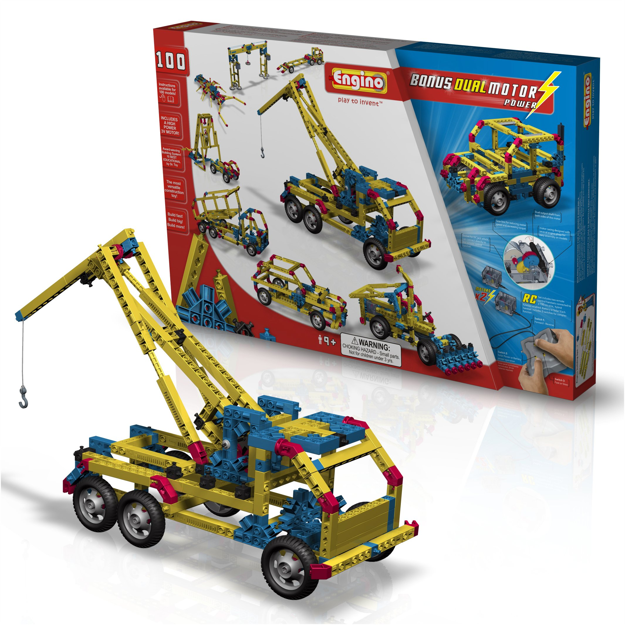 Engino  100 Models Dual Motor Ultimate Construction Set