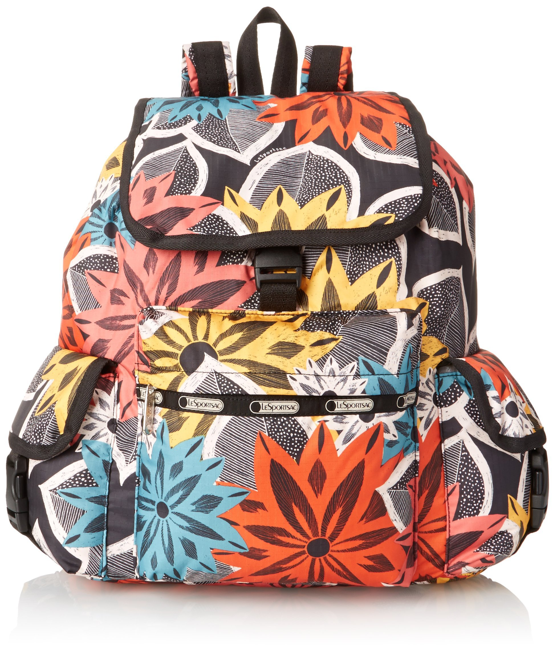 LeSportsac Voyager Backpack, Caraway Floral, One Size