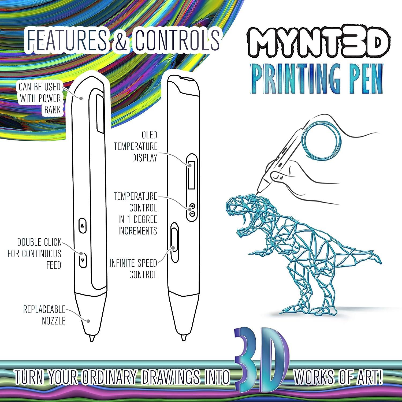 MYNT3D Professioneller 3D-Druckstift mit OLED-Display