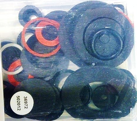 54 Piece Seal /& Washer Assortment Seals Gaskets Neoprene Foam Polyfiber Plastic