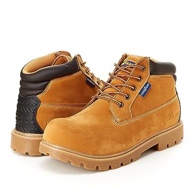 Mason Mens Chukka Boot - Steel Toe Slip & Oil Resistant