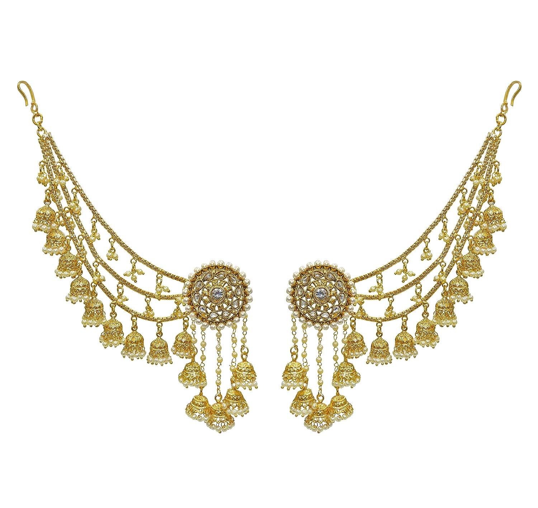 Babosa Sakhi Bahubali Indian Earrings Jhumki Jhumka Sahara Kaan