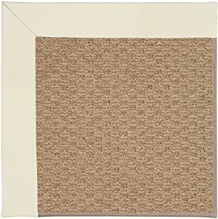 product image for Capel Rugs 1992RS04000600605 Zoe-Raffia Rectangle Machine Tufted Area Rug, 4 x 6', Brown
