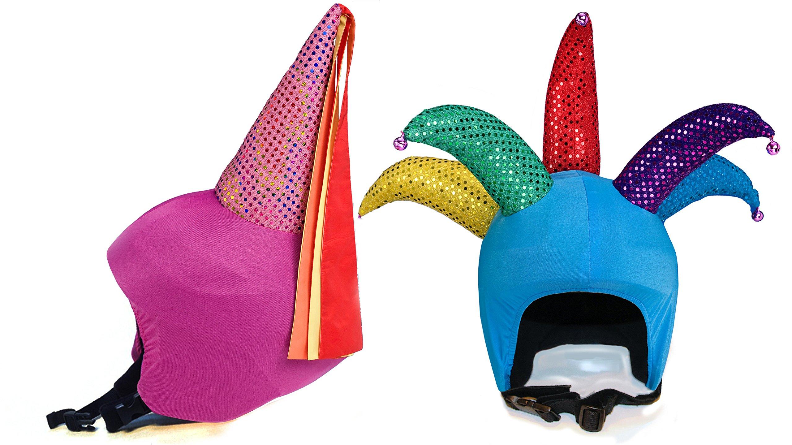 Fun Helmet Cover bundle Princess Mona Leza And Hankster the Prankster