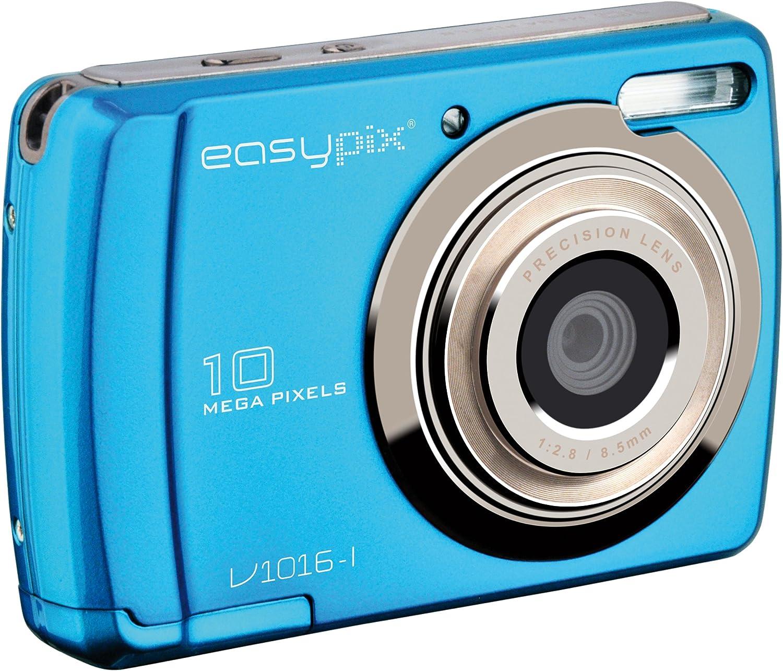 Easypix Swing Digitalkamera 2 7 Zoll Eisblau Kamera