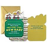 Hallmark Golden Thread Baby Shower Card for