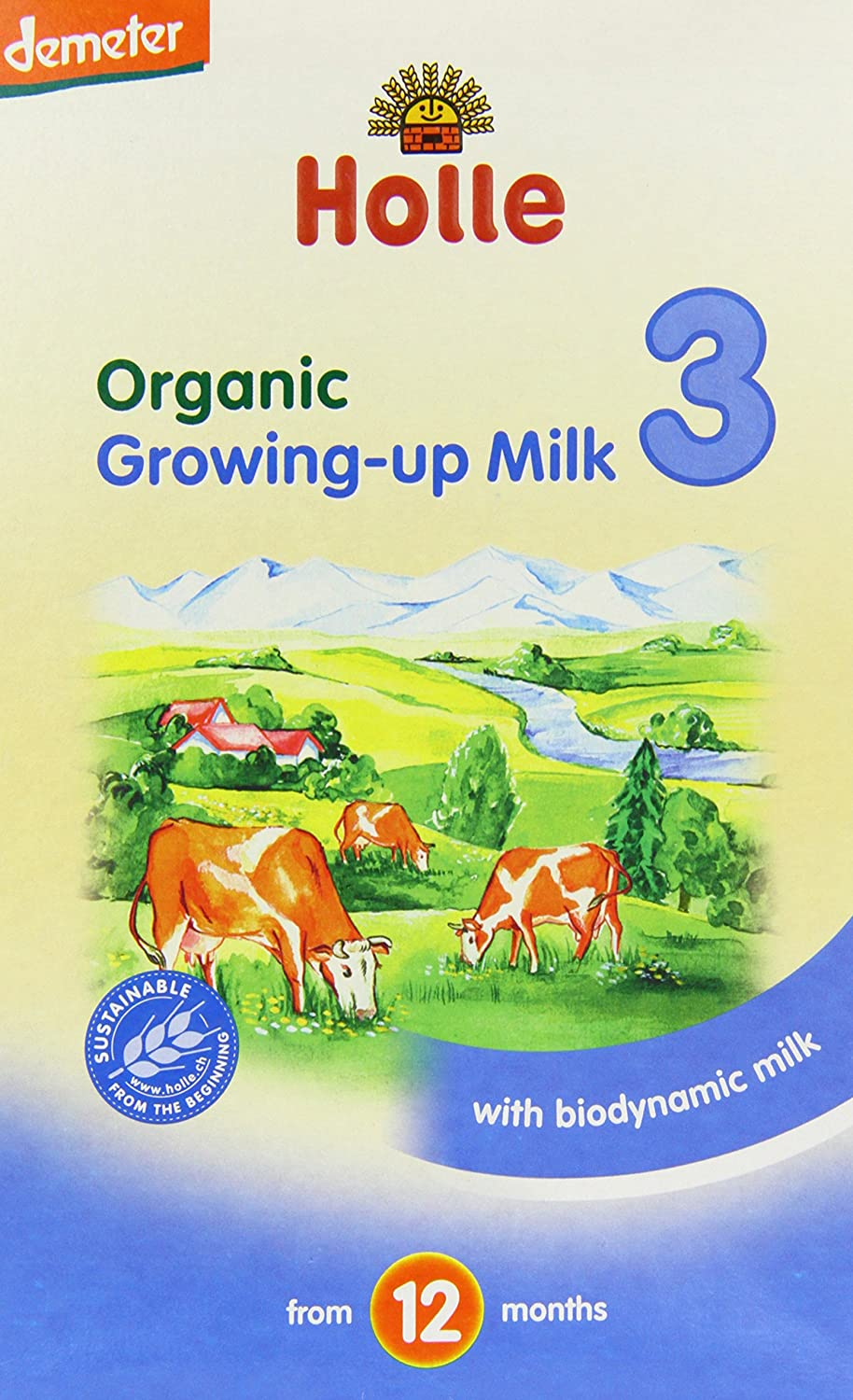 Holle Organic Growing Up Milk 600 g (Pack of 4) 77575
