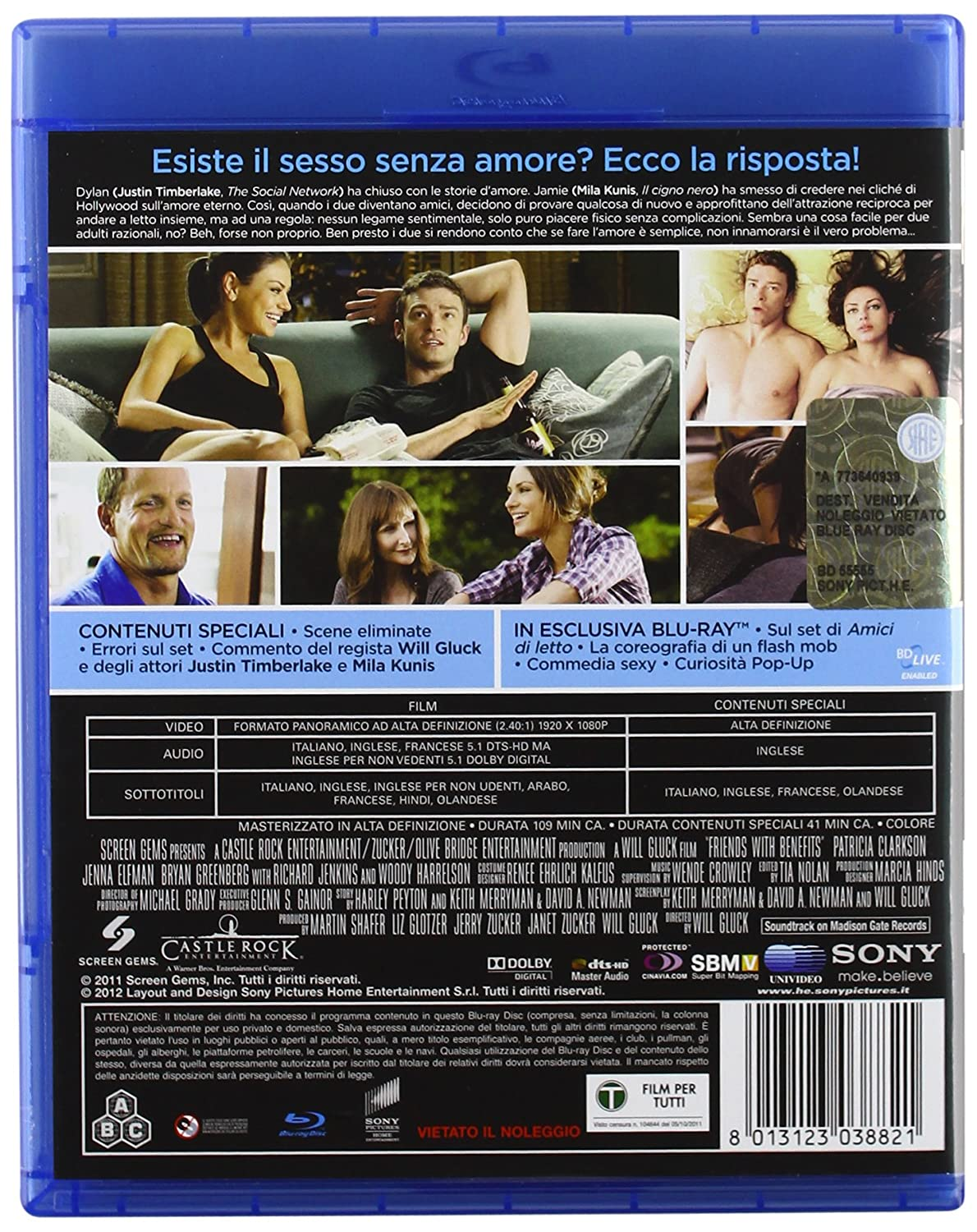 Amici Di Letto Amazon Co Uk Patricia Clarkson Jenna Elfman Bryan