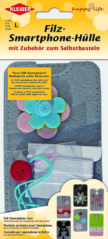 Kleiber - Kit Infantil de Bricolaje para Smartphone, de Fieltro ...