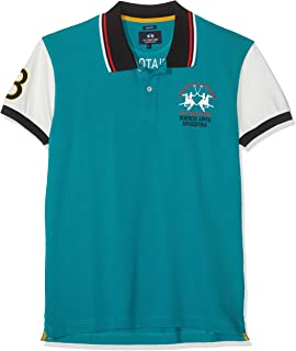 La Martina Man Polo Short Sleeve Piquet Stretch Hombre: Amazon.es ...