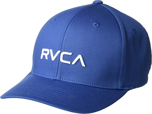 RVCA Flex Fit - Gorra de béisbol - Azul - X-Large: Amazon.es: Ropa ...