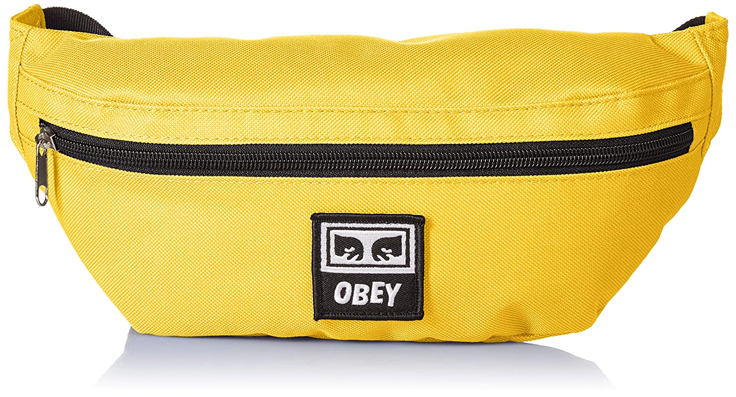 Obey Mens Daily Sling Pack yellow ONE SIZE 100010100