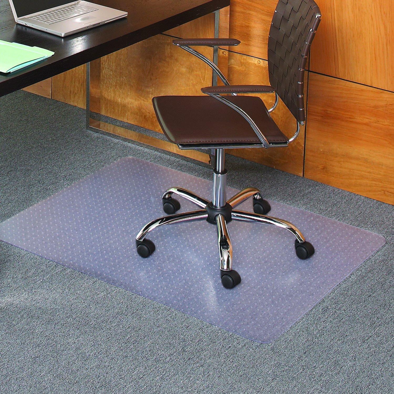 Amazon Staples Flat Pile Carpet Chair Mat Rectangular