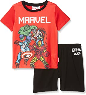 Marvel Pixelated Gaming, Conjuntos de Pijama para Niños