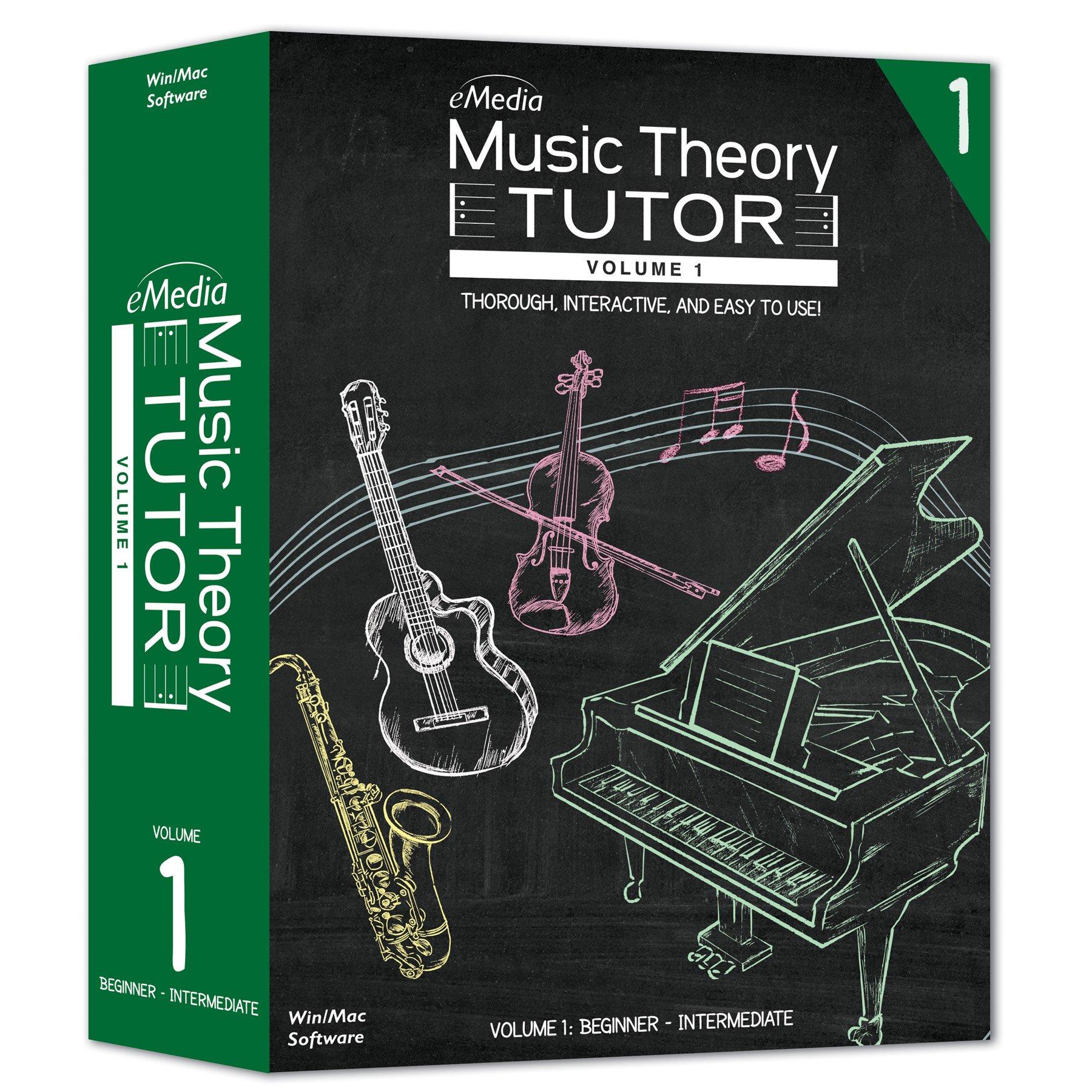 eMedia Music Theory Tutor, Volume 1 by eMedia