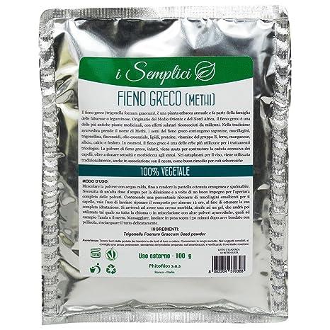 PHITOFILOS Polvo Puro de Methi - Polvo ayurvédico tradicional para la piel y cuidado del cabello