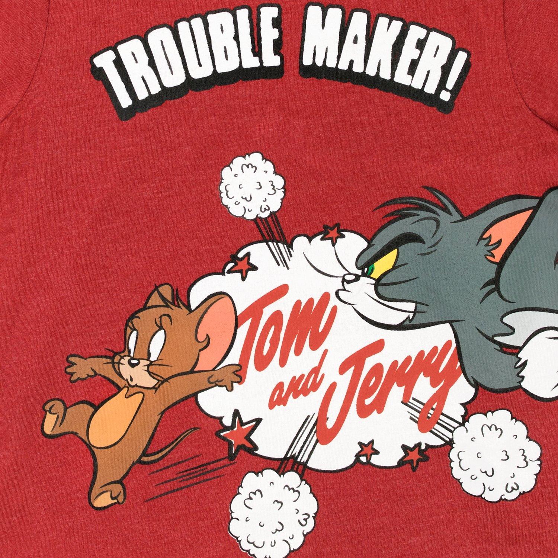 Maglietta a maniche corta per Ragazzi Tom e Jerry Tom and Jerry