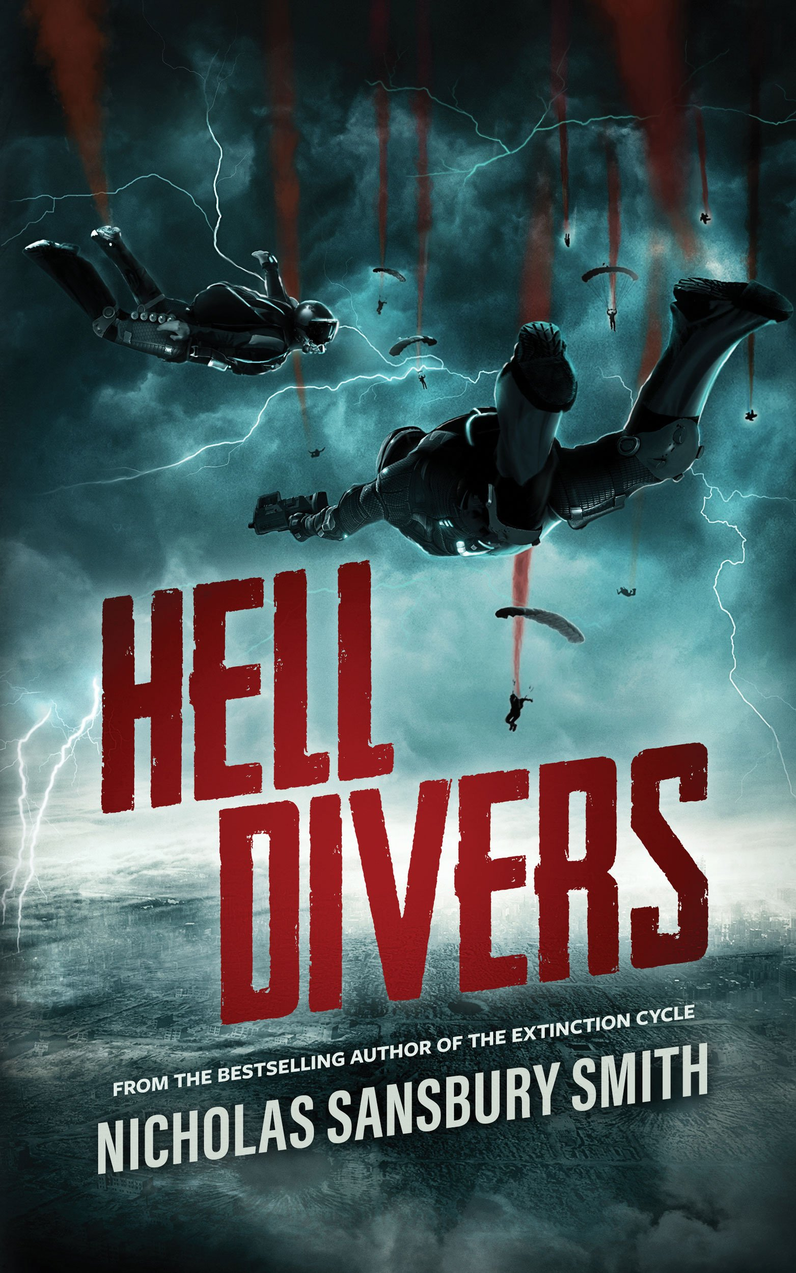 Hell Divers (Hell Divers Series, Book 1): Nicholas Sansbury Smith:  9781455115983: Amazon.com: Books