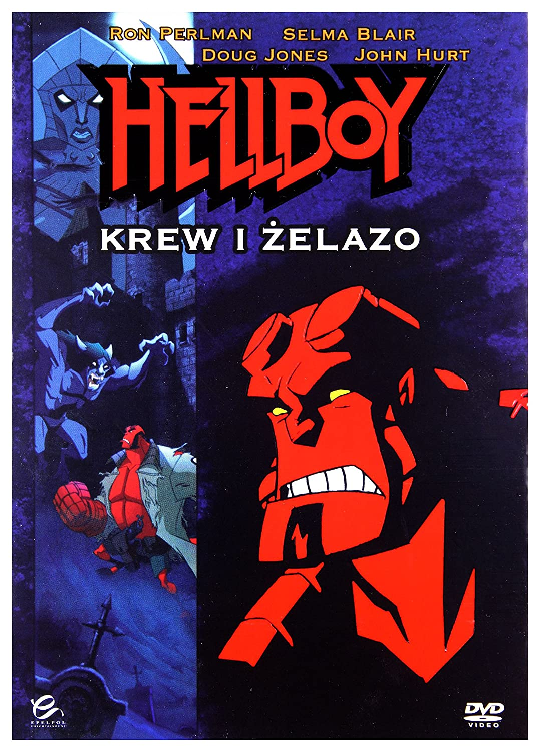 Hellboy Animated: Blood and Iron 2007 DVD IMPORT No hay ...