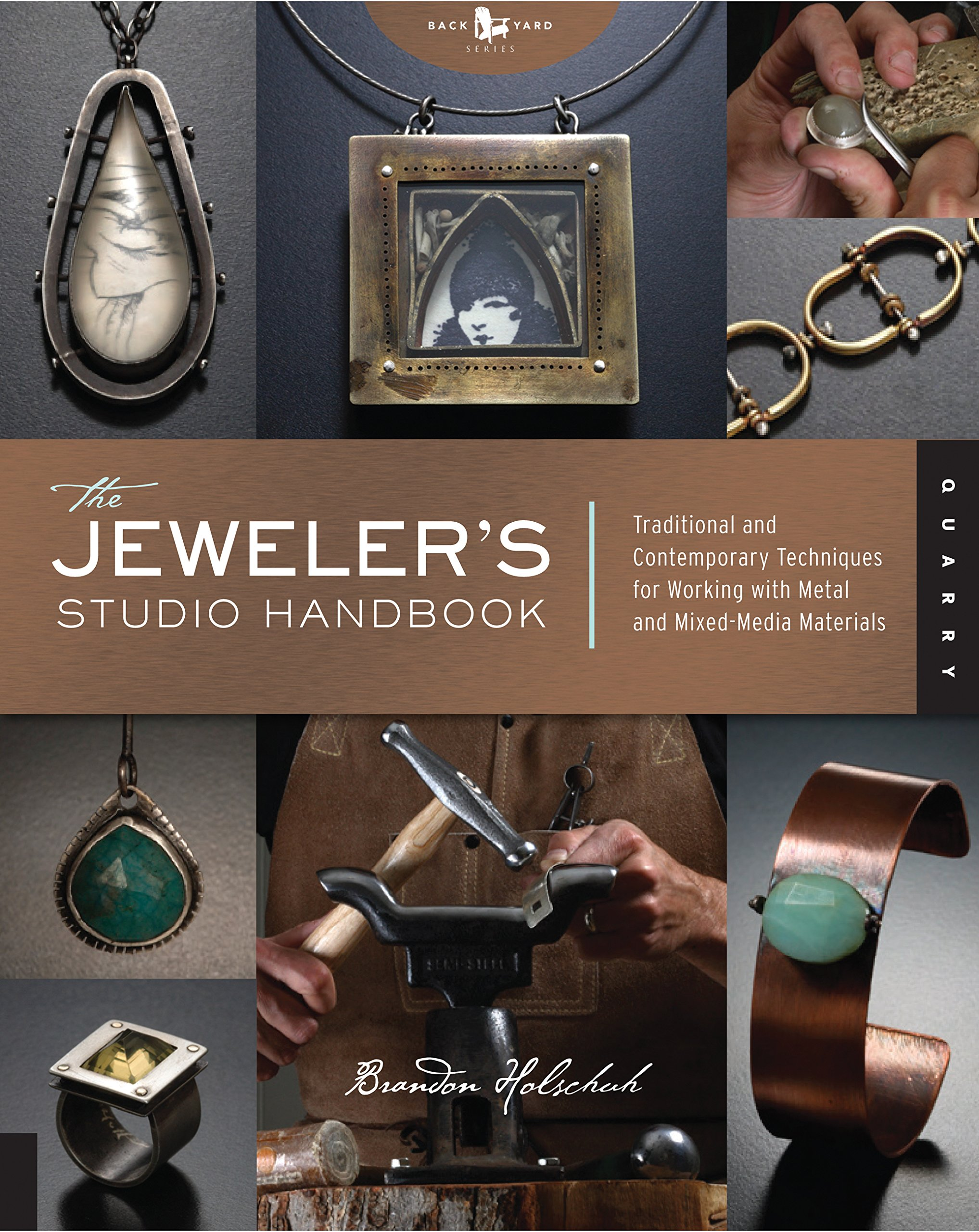 The Jeweler's Studio Handbook: Traditional and Contemporary Techniques for Working with Metal and Mixed Media Materials (Studio Handbook Series) ebook