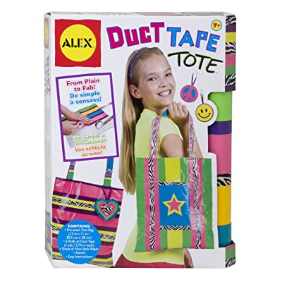 ALEX Toys Do-it-Yourself Wear Duct Tape Tote: Toys & Games