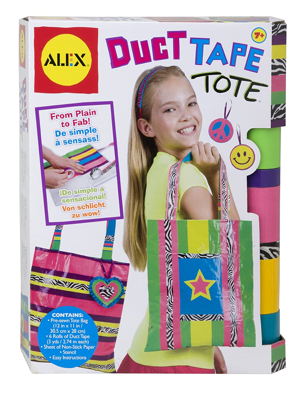 Amazon ALEX Toys Do It Yourself Wear Duct Tape Tote Games