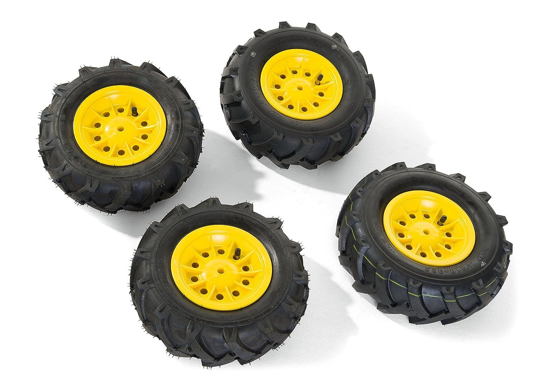 Rolly Toys 409303 - Luftbereifung für Traktor gelbe Felge Felge Felge 307da4