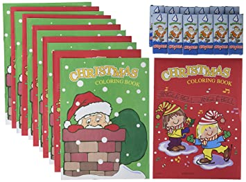 kids christmas coloring activity books crayon bundle 12 coloring books 12 sets of