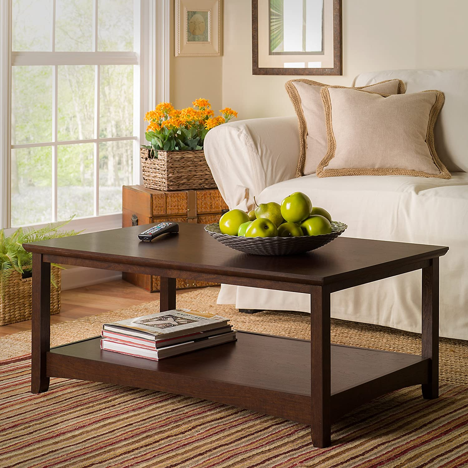 Buena Vista Coffee Table in Madison Cherry Bush Industries--DROPSHIP MY13807-03