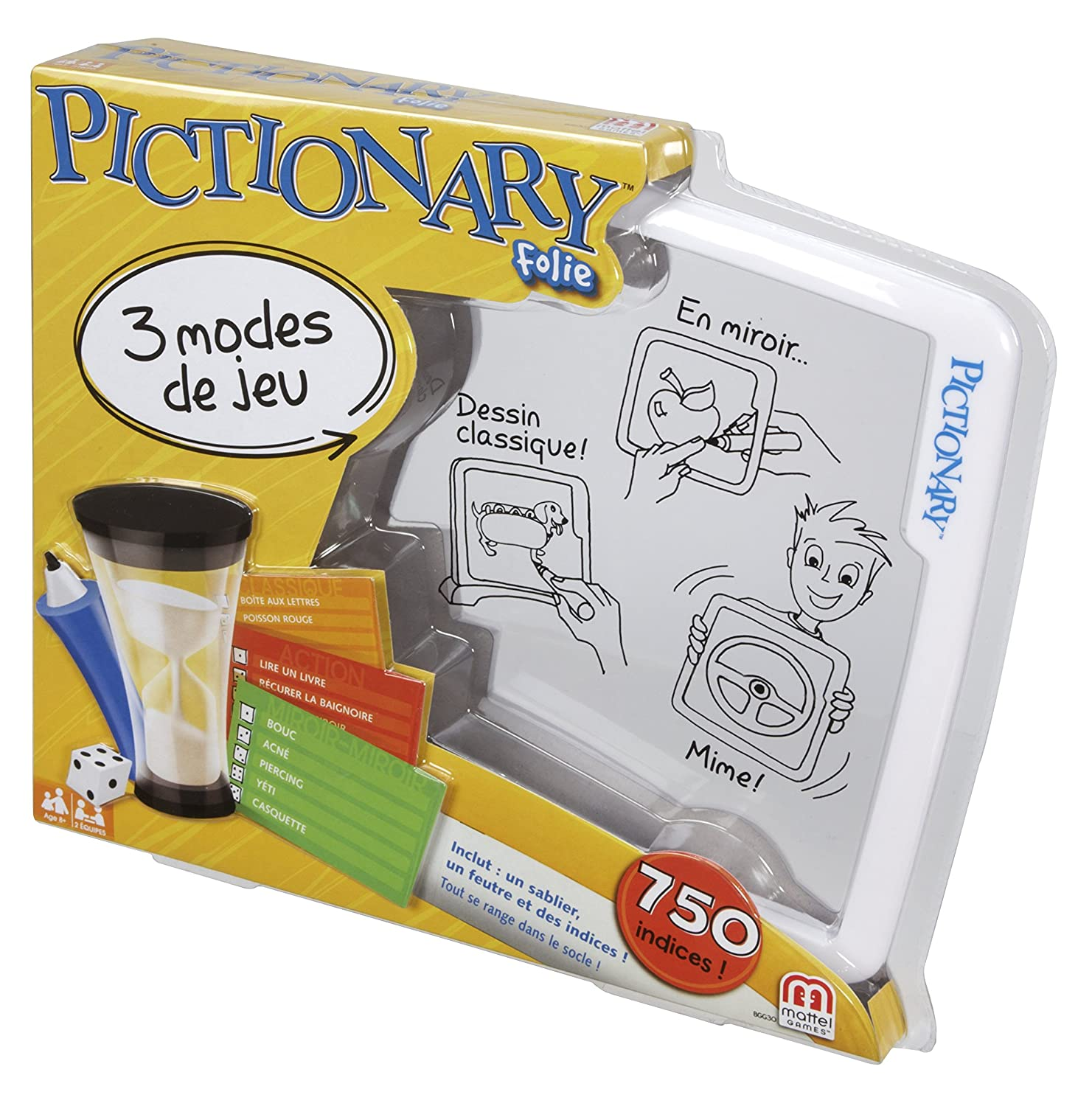 Pictionary Frame Game, French, Board Games - Amazon Canada