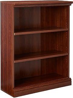 Sauder Camden County 3-Shelf Bookcase, Planked Cherry Finish