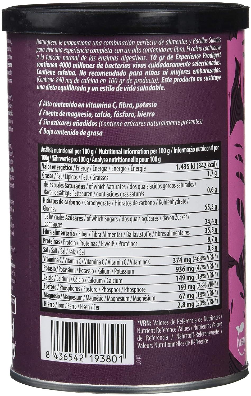 Superalimento NaturGreen Experience Prodigest - 200 gr: Amazon.es: Alimentación y bebidas