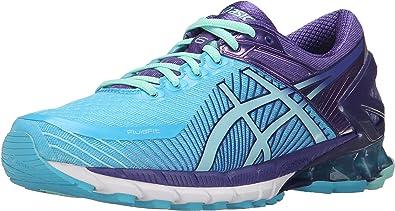 ASICS Zapato para correr Gel-Kinsei 6 para mujer, turquesa / Aqua Mint / Purple, 9.5 M EE. UU.: Amazon.es: Zapatos y complementos