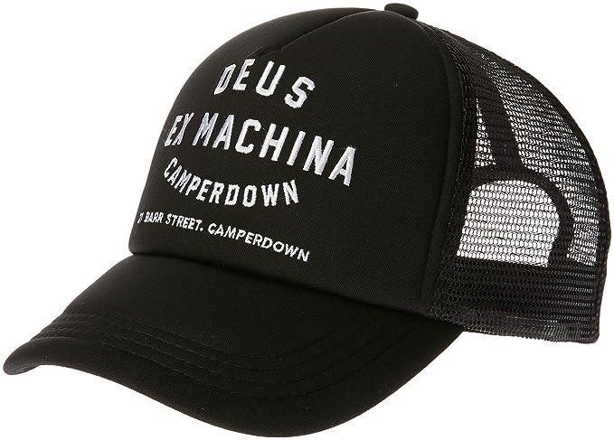 répliques livraison rapide profiter de prix discount Deus Ex Machina Milano Address Trucker Cap One Size Black at ...