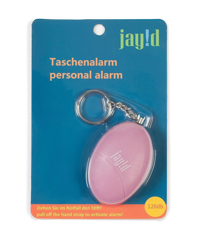 Accesorio adaptado para la protecci/ón personal en caso de emergencia Alarma de autodefensa port/átil de 120dB Disponible en formato llavero.Mini alarma de seguridad con sirena de alta intensidad que emite una se/ñal de alarma en caso d
