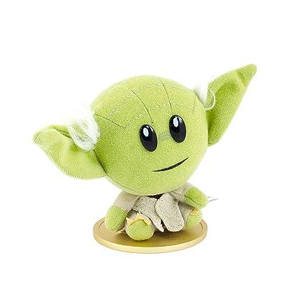 Amazon Com Star Wars Collectible Superbitz Talking Yoda Plush Toys