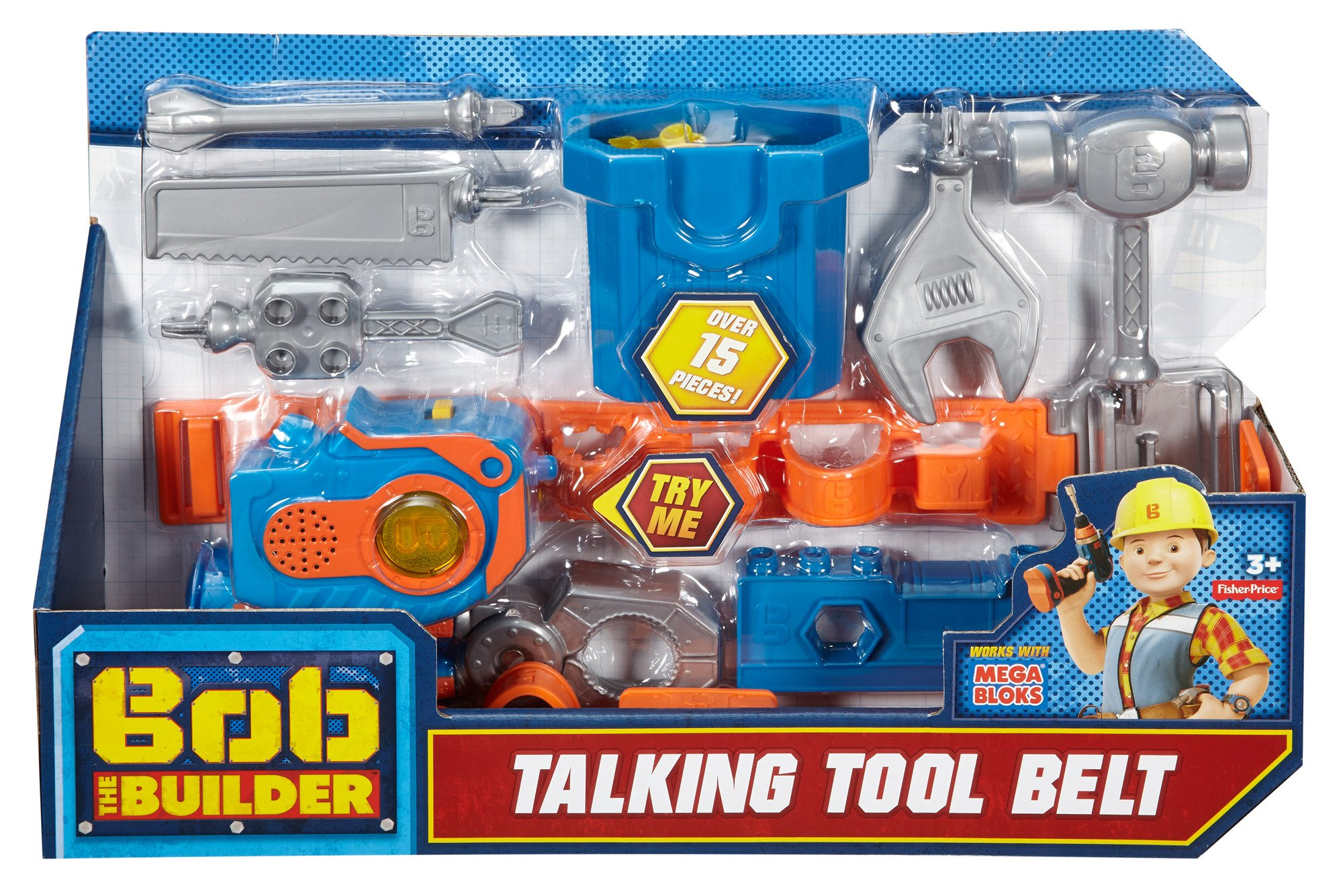 Fisher-Price Bob the Builder, Talking Tool Belt by Fisher-Price (Image #4)