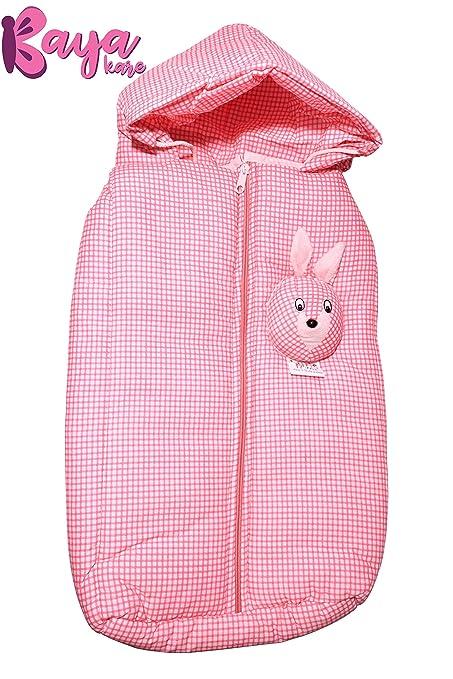 49061facc Buy Kayakare Newborn Baby Wrapper Sleeping Bag Cum Carry Bag with ...