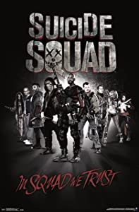 """Trends International Suicide Squad Group Wall Poster 22.375"""" x 34"""""""