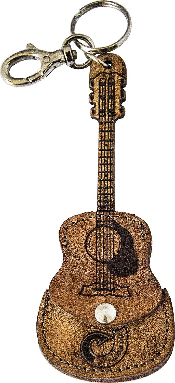 Llavero Soporte para púas Guitarra de piel auténtica Etabeta Artigiano Toscano