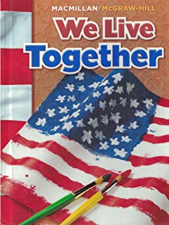 We live together mgh 9780021492633 amazon books we live together macmillanmcgraw hill social studies fandeluxe