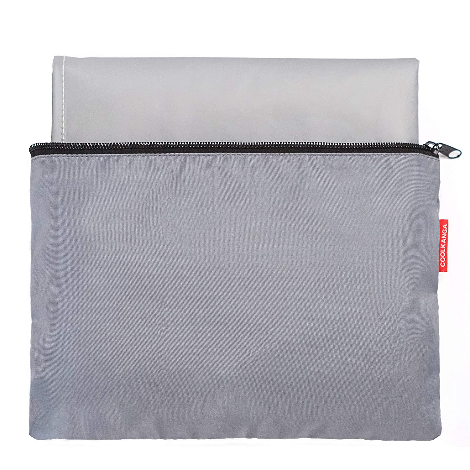 Portable Changing Pad: Large, Fully Padded, Waterproof and Wipeable Travel Mat with Storage Bag – Lightweight and Compact Baby Diaper Change Station for Newborns, Infants and Toddlers by COOLKANGA