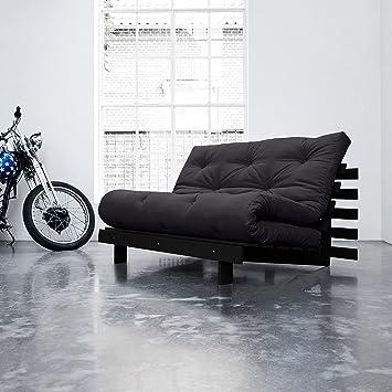 Karup Roots - Sofá, cama con futón, 140 cm: Amazon.es: Hogar