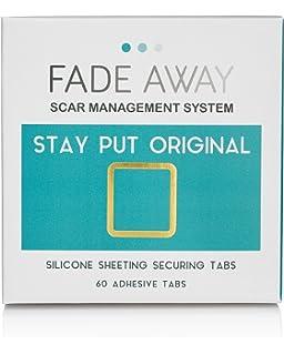 FADE Away silicona de copia de seguridad tiritas – Stay Put pastillas para extra sujeción
